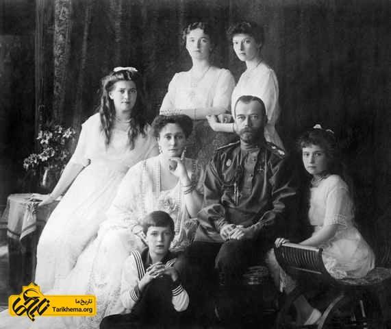 سزار نیکلاس دوم و خانواده