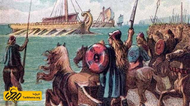اولین حمله روم به بریتانیا