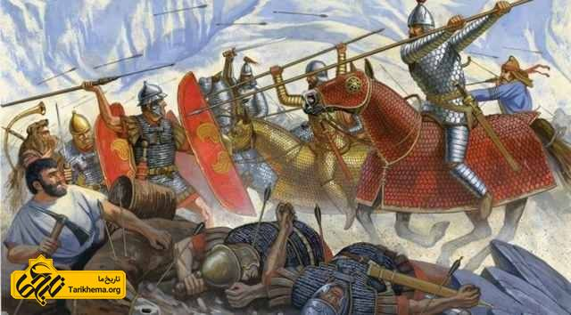 کراسوس در نبرد حران