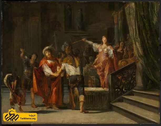 دستور مرگ نینوس توسط سمیرامیس