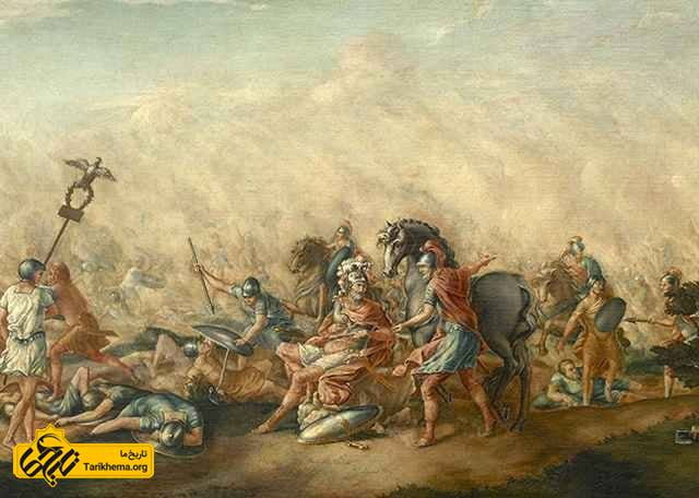 مرگ آمیلیوس در نبرد کانای