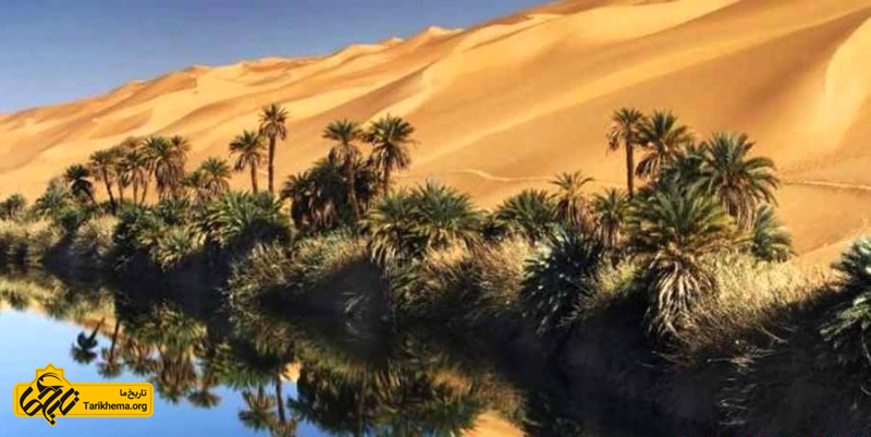 دریاچه ی اوباری شگفتی در صحرای لیبی