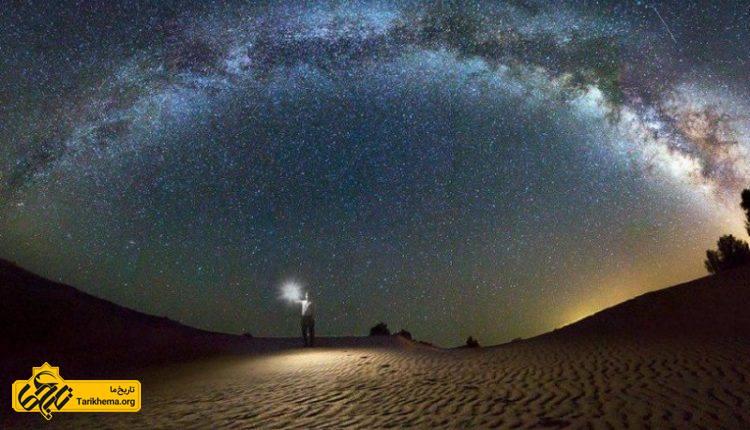 بهترین مناطق کویری ایران برای رصد آسمان