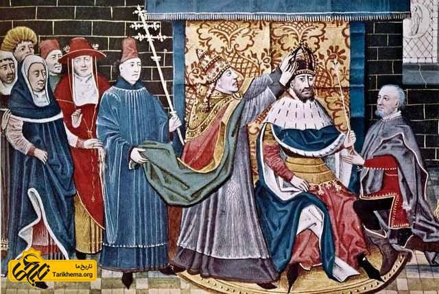 تاجگذاری شارلمان توسط پاپ لئو سوم