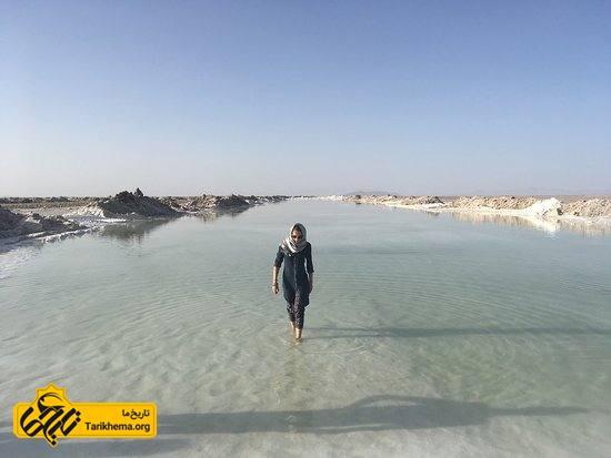 دریاچه ی نمک خور اصفهان
