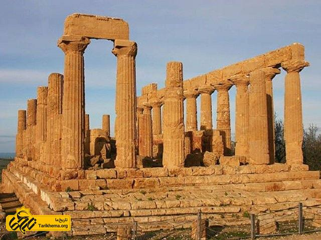 معبد هرا در ایتالیا