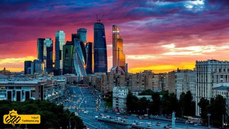 معرفی شهر مسکو