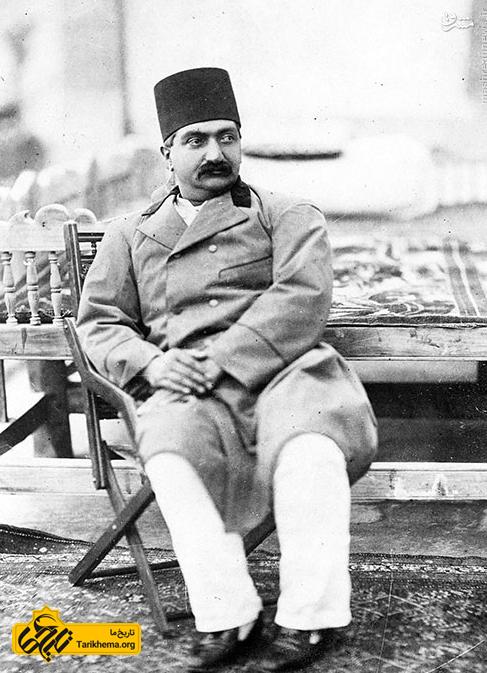 ظل السلطان پسر ارشد ناصرالدین شاه + عکس