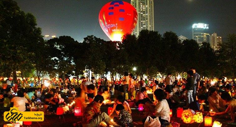 ماجراجویی در جشن نیمه پاییز چینی ها