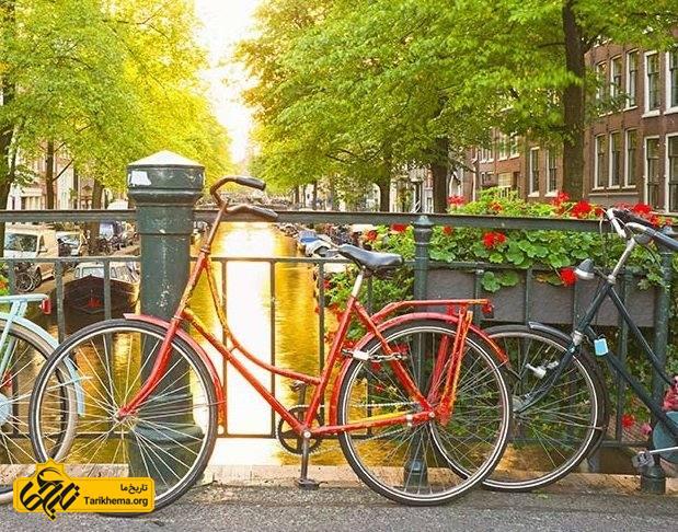ماجراجویی با دوچرخه در آمستردام