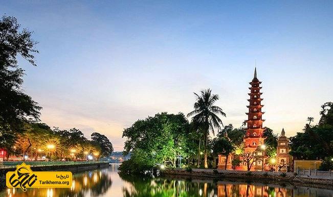 شهر هانوی در ویتنام
