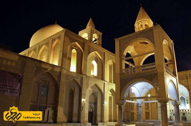 برترین کلیساهای ایران