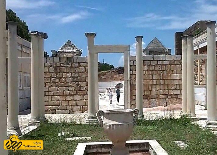 ویرانه های باستانی ترکیه