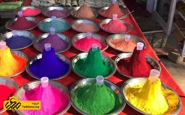 جشن رنگ ها در هند