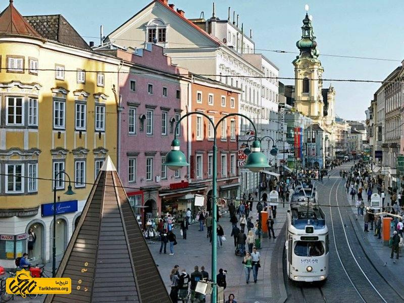 شهر لینتس اتریش