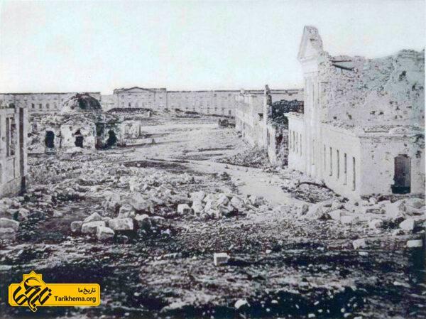 ruined barracks
