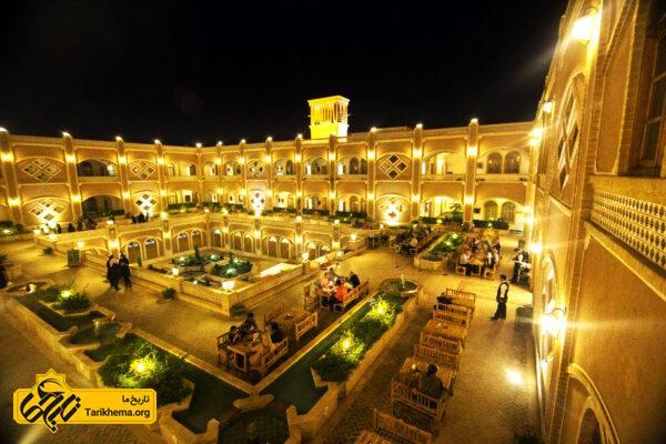 هتل داد یزد ، شکوه معماری کهن در قلب کویر