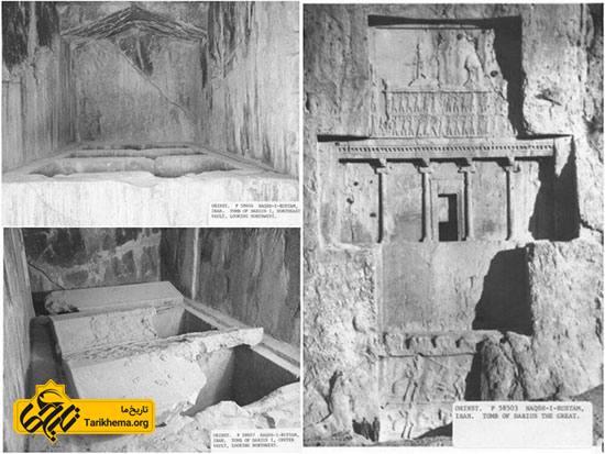 تصاویر کمتر دیدهشده از آرامگاه داریوش بزرگ