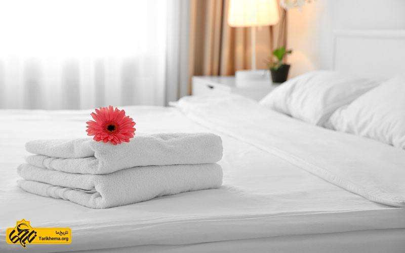 راز ملحفه های سفید در هتل ها