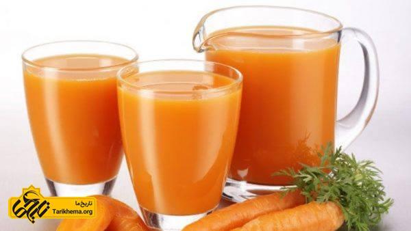 مرگهای عجیب در جهان:مصرف زیاد آب هویج