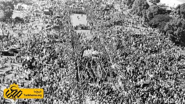 تشیع جنازه گاندی