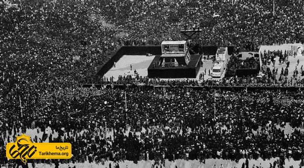 تشییع پیکر پاک امام خمینی(ره) بزرگترین تشییع جنازه جهان بود