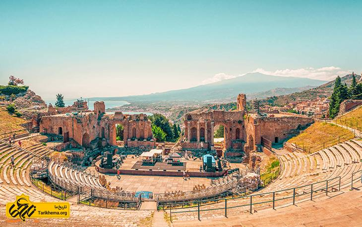 آمفی تئاتر یونانی رومی