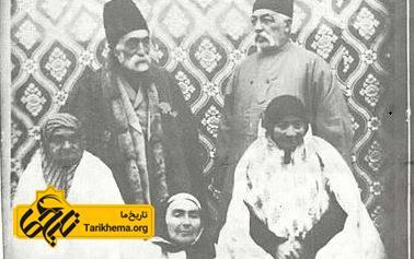 تصویر تعدادی از فرزندان فتحعلی شاه