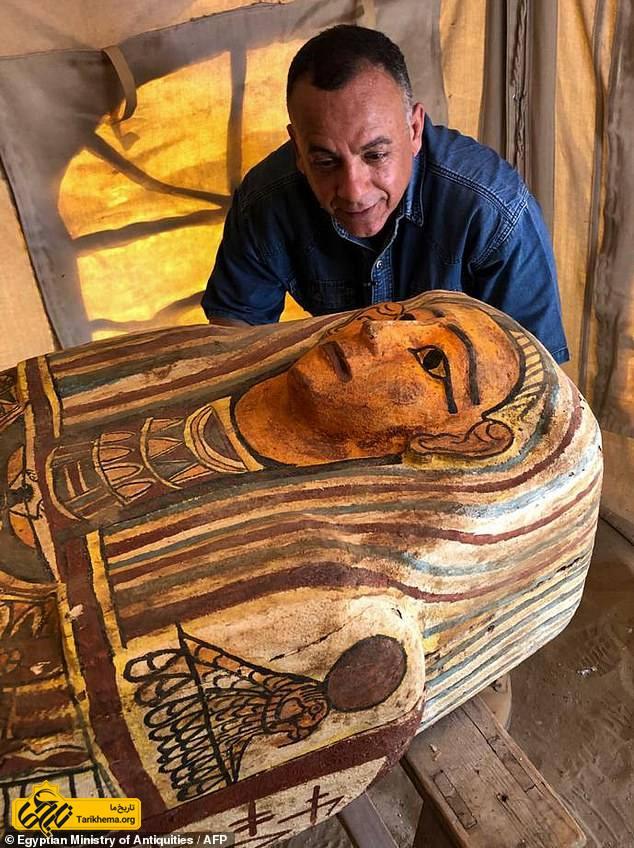 کشف تابوتهای ۲۵۰۰ ساله در مصر