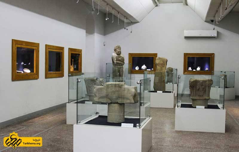 مجسمه های تاریخی و آثار باستانی موزه شوش