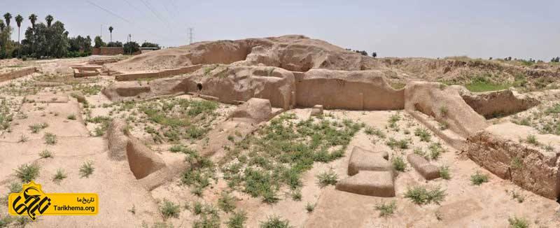 موزه هفت تپه و ویرانه های آثار تاریخی
