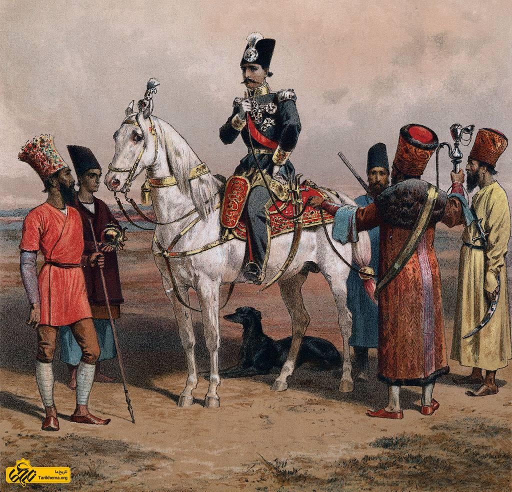 ناصرالدین شاه جوان
