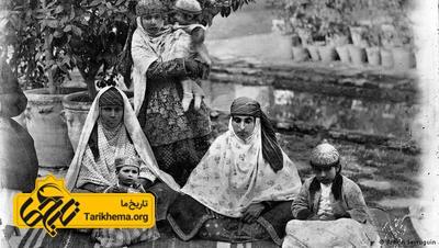 نگاره ای از دختران قاجاری