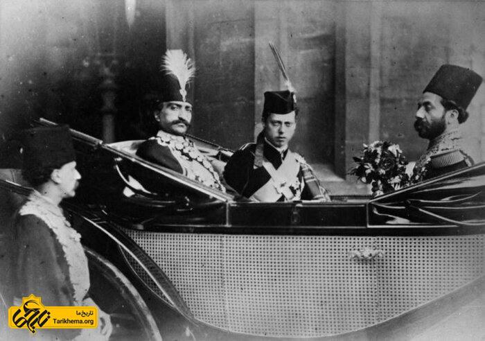 سفرهای ناصرالدین شاه به اروپا