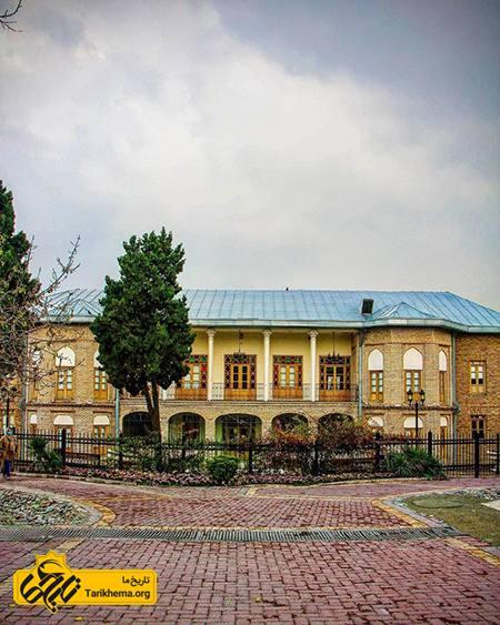 عمارت ارباب هرمز، عمارتی ۱۱۰ ساله