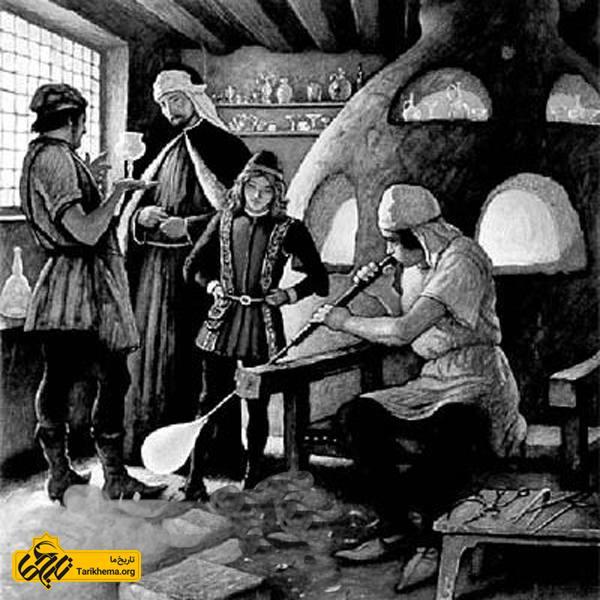 شیشه گری در دوران قاجار