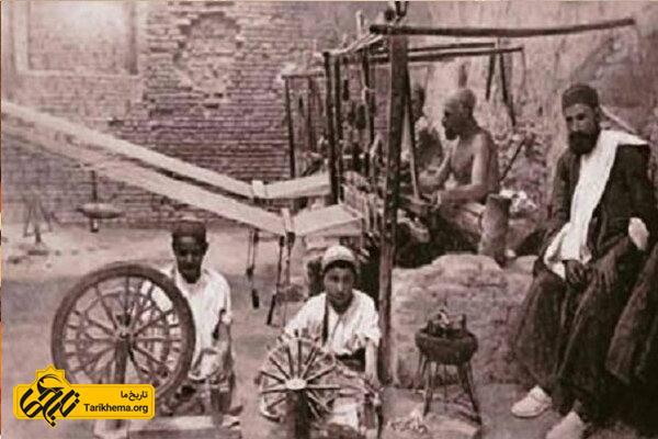 صنایع دستی در قاجار