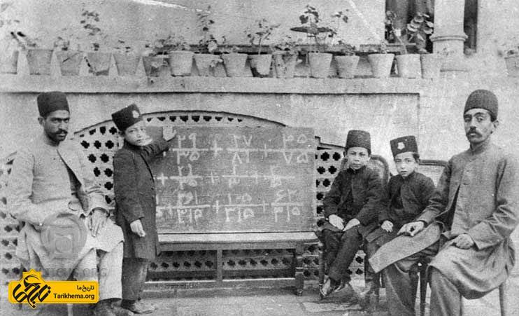 آموزش در قاجار همگانی شد اما همچنان دختران اجازه تحصیل نداشتند