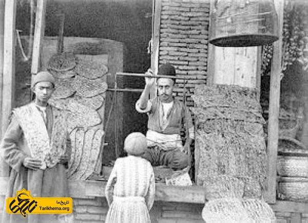 مردم در بازارهای دوره قاجار