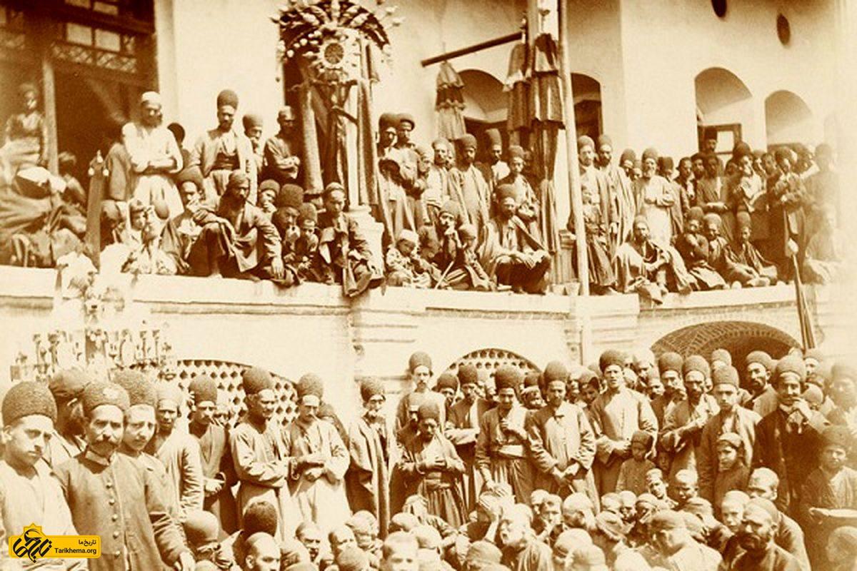 روضه خوانی محرم در دوره قاجار
