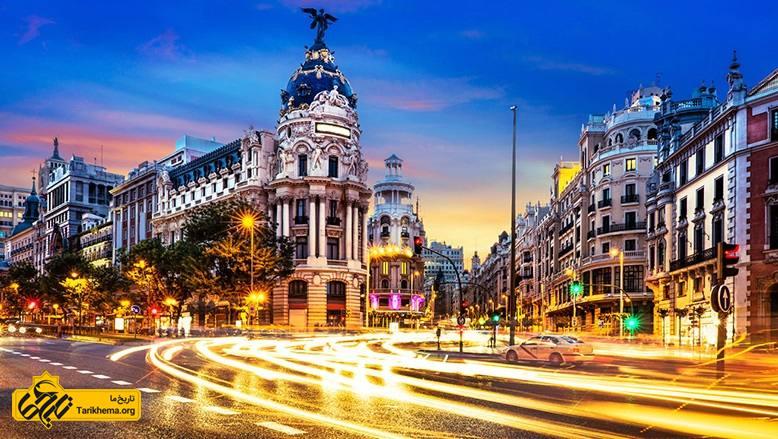 مسافرت به اسپانیا