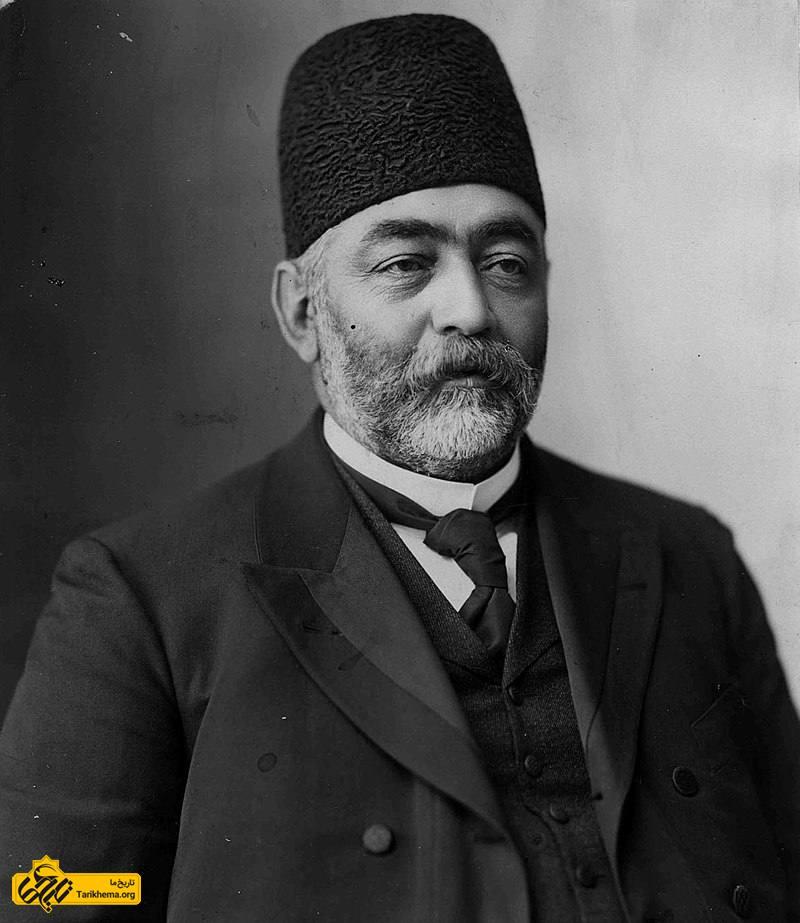 میرزا علیاصغر اتابک اولین رئیسالوزرای ایران