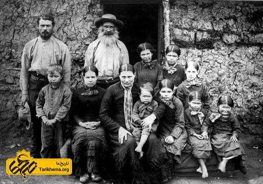 خانوادهٔ بوئری در سال ۱۸۸۶