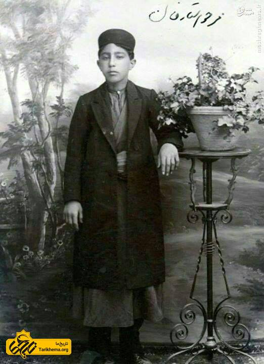 ستارخان در ۱۶ سالگی
