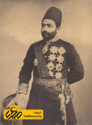 میرزا علی اصغرخان اتابک در جوانی