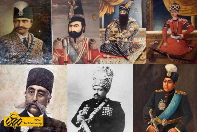 شاهان قاجاری