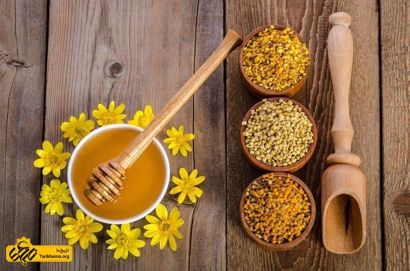 خواص درمانی گرده گل