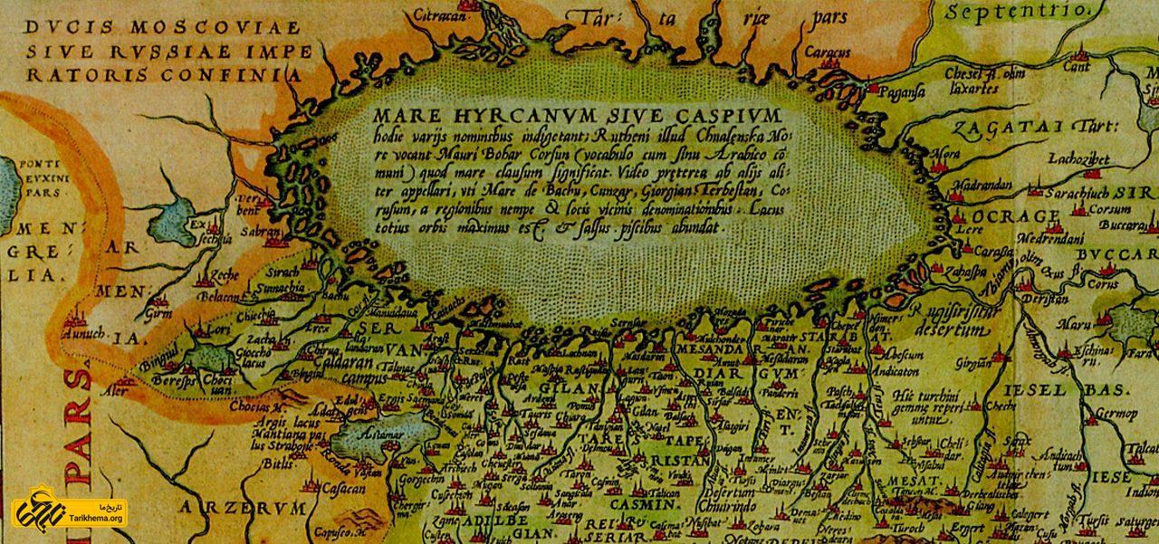 نقشه گیلان، ۱۵۷۰ م/ ۹۴۹ ه. ش