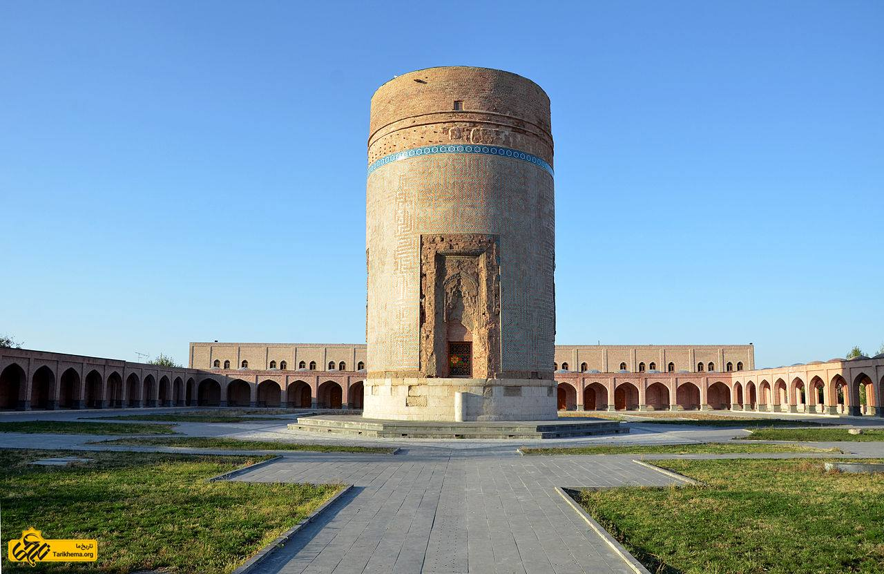 تصویری از آرامگاه شیخ حیدر