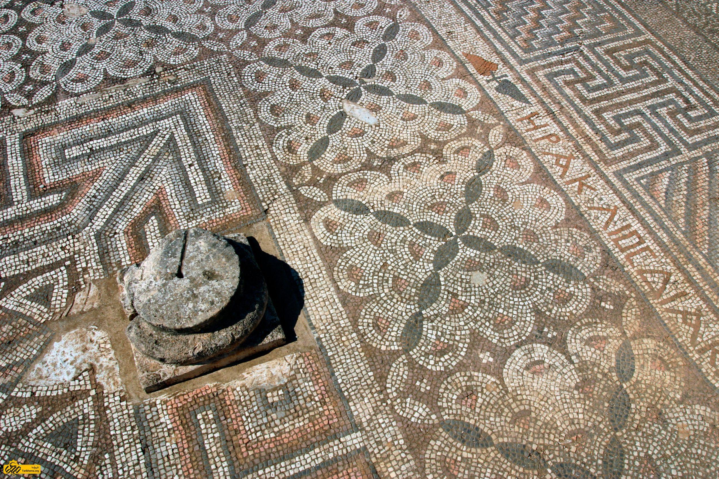 کاشیکاری رومی، روایتی تازه از بریتانیای قرون وسطی